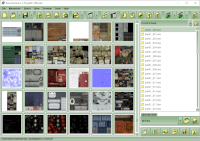 Showing thumbnails for all the images in an archive.